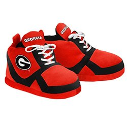 Kids NCAA Georgia Bulldogs 2015 Sneaker Slipper Shoes - Red - Size: Large