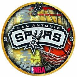 "Wincraft ""San Antonio Spurs"" NBA High Def Wall Clock - 18"""