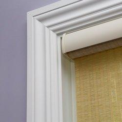 """Best Home Fashion Premium Single Roller Window Shade - Beige - 36""""W x 64""""L"""