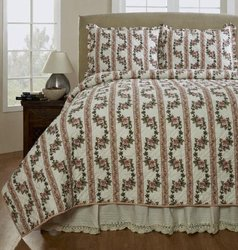Be-You-Tiful Home Antoinette Quilt Set, Twin, Pink