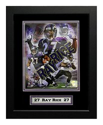 NFL Ray Rice Deluxe Frame, 11x14