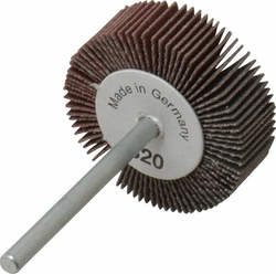"Merit 1-3/16"" Dia. Round Shank Grind-O-Flex Abrasive Flap Wheel - 10-Pack"