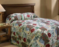 Scent-Sation Noel Bedspread, King