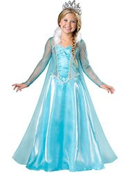 InCharacter Costumes Snow Princess Costume, One Color, 6