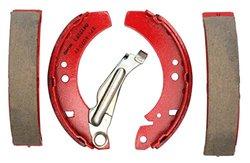 Acdelco 17454B Professional Bonded Rear Drum Brake Shoe Set