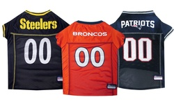 Nfl Afc Pet Mesh Jerseys: New England Patriots/small
