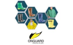 ONGUARD 75052 Nylon on Polyurethane Polytex Bib Overall with Snap Fly Front, Yellow, Size Small