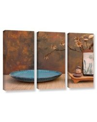 ArtWall Zen Still Life by Elena Ray Piece Gallery-Wrapped Canvas Set 3
