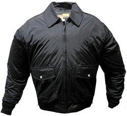 Solar 1 Clothing NY01 NYPD Style Police Nylon Duty Jacket, Black, 3X-Large Long
