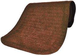 "Andersen 447 Cinnamon Nylon Hog Heaven Plush Anti-Fatigue Mat, 5' Length x 3' Width x 7/8"" Thick, For Indoor"