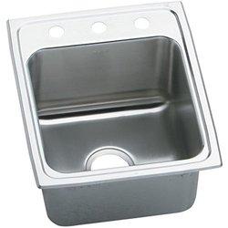 Elkay DLR1722103 3 Faucet Holes Gourmet 17
