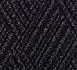 "The Andersen 10'x3'x3/8"" Interior/Scraper Wiper Floor Mat - Charcoal Cord"