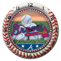 MLB Atlanta Braves Game Clock