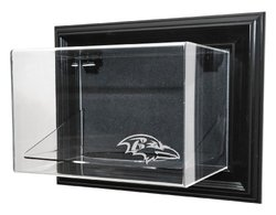 Caseworks NFL Baltimore Ravens Football Case-Up Display - Black