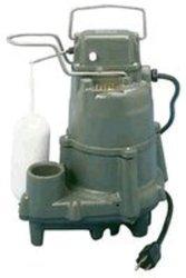 Zoeller Pumps D98 Flow-Mate 230 Volt Automatic Submersible Dewatering Pump
