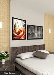 JP London Framed Gallery Wrap Heavyweight Canvas Art Wall Decor