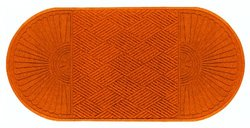 "Andersen 11.7' x 3' x 3/8"" Indoor/Outdoor Floor Mat - Orange"