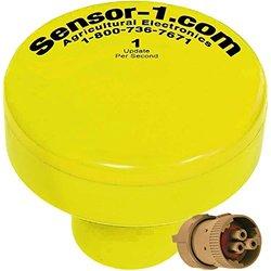 Sensor-1 1 Hz GPS Speed Sensor with Tee-Jet 855 Connector - Yellow