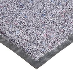 Andersen 190 TriGrip Nylon Fiber Interior Floor Mat, Non-Woven Polyester and SBR Rubber Backing, 6' Length x 4' Width, Stardust Grey