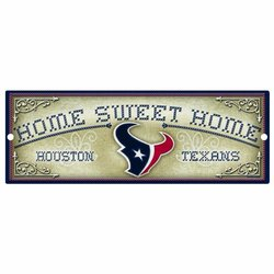 """Wincraft Houston Texans 6X17"""" Wood Sign One Color"""