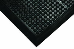 WEARWELL 454 Antifatigue Mat 3 ft. x 4 ft black