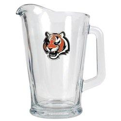 NFL Cincinnati Bengals 60-Ounce Glass Pitcher - Primary Logo