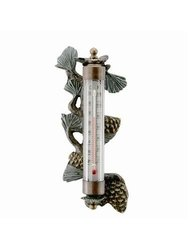 SPI Home 33311 Pinecone Wall Mounted Thermometer