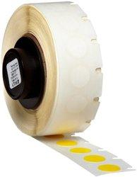 Brady PTL-82-499-YL TLS 2200 and TLS PC Link B-499 Nylon Cloth, Matte Finish Yellow Label (500 per Roll)