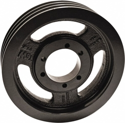 """TB Woods 1603B Classical V-Belt Sheave, B Belt Section, 3 Grooves, SK Bushing required, Cast Iron, 16.35"""" OD"""