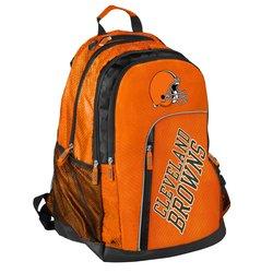 NFL Cleveland Browns Elite Laptop Backpack - Orange - Size: 19.5