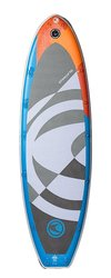 Imagine Surf High Pressure Inflatable Stand Up Paddleboard - White -Size:M