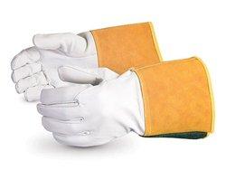 Superior Precision Arc Goatskin Leather Welder Glove Pack of 12 - XL