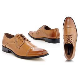 Adolfo Euro-1 Men's Oxfords Shoes - Tan - Size: 8
