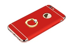 Waloo Zernix Series Slim iPhone 6/6S Case with Ring Kickstand - Red