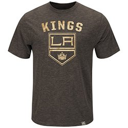 Majestic Athletic NHL Men's Hours & Hours Fashion Top - Charcoal - Size: M