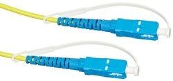 2 m Length Fiber Optic UPC-UPC Singlemode Patch Cord for Fiber OneShot Pro