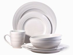 Sphere 16 Pc Dinnerware Set Service For 4