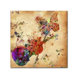 "Trademark Fine Art ""Love Music"" Canvas Art by Mark Ashkenazi"