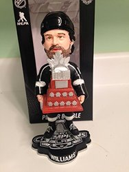 NHL Los Angeles Kings Williams J. #14 2014 Stanley Cup Champions MVP Bobble Road Figurine, Black