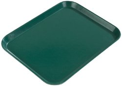 "Rectangular Cafeteria Tray - 20-1/4x15"" Smoke Gray"