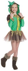 Rubies Wizard of Oz Scarecrow Hoodie Dress Costume  - Small