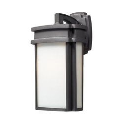 ELK Lighting Sedona 1 Light Outdoor Sconce in Graphite 42341/1