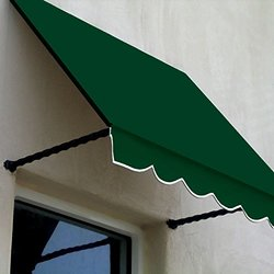 "Awntech  10' Santa Fe  Window/Entry Awning; 24"" x 12"", Forest"