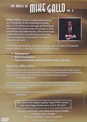 MMS Magic of Mike Gallo - Vol. 2 by Mike Gallo - DVD