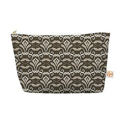 "Kess InHouse Everything Bag, Tapered Pouch, Julia Grifol ""Deco"", 8.5 x 4 Inches (JG1030AEP03)"