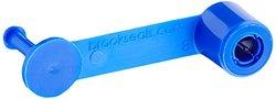 Brady 95163 Ring-Loc Drum Seals, Blue