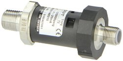 "Ashcroft Type T2 High Performance Pressure Transducer without Mating Connection, 1/4"" NPT Male Connection, 4/20mA Output Signal, 0/3000 psi Pressure Range"