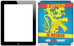 Zing Revolution The Big Bang Theory Premium Vinyl Adhesive Skin for iPad 2 (MS-tbbt80250)