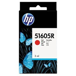 HP Red Ink Cartridge - Inkjet - 500 Page