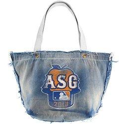 MLB All Star Game 2013 Denim Vintage Tote Bag - Blue